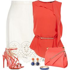 """""""Laser Cut"""" by justjules2332 on Polyvore"""