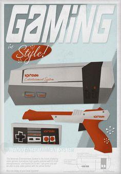 Gaming in style ! #nintendo #fanart