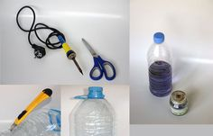 make an art bowl from pet bottle