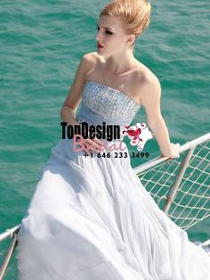 Wholesale Vestidos De Fiesta 2017 Brand New Evening Party Gown Rhinestone White Chiffon Prom Dresses