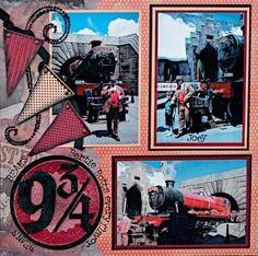 Harry Potter - Platform 9 3/4 - RIGHT SIDE - Scrapbook.com