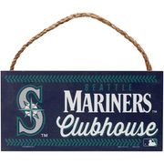 """Seattle Mariners WinCraft 5"""" x 10"""" Rope Wood Sign"""