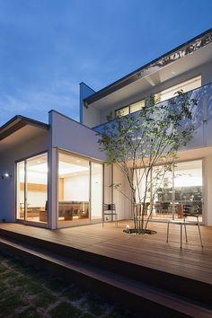 外観(WHITE COURT HOUSE)- アウトドア事例