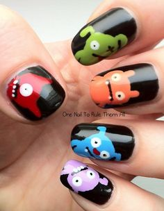 monster nails <3