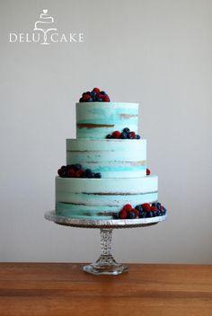 Libuška & Zdeněk by DELU CAKE - http://cakesdecor.com/cakes/282414-libuska-zdenek