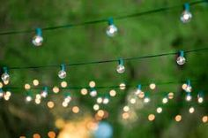 hanging string lights - Google Search
