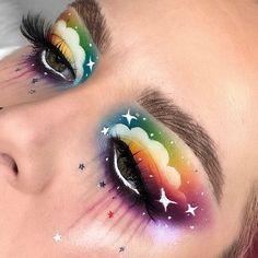 Fantasy James Charles Palette - - My list of the most creative makeup secrets Eye Makeup Designs, Eye Makeup Art, Colorful Eye Makeup, Eyeshadow Makeup, Eyeliner, Colorful Eyeshadow, Eye Art, Eyebrow Makeup, Crazy Makeup