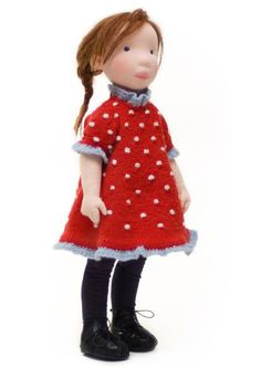 Bonnie  Handmade cloth doll by AldegondeCeelen on Etsy, $400.00... I love this pretty little girl