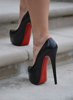 Christian Louboutin - Daffodile | Joining in with the #actionshot pins! #shoeporn