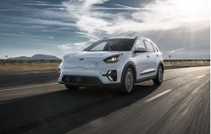 2021 Kia Niro EV Review, Ratings, Specs, Prices, and Photos - The Car Connection Good Looking Cars, Dual Clutch Transmission, Nissan Leaf, Roof Rails, Sports Sedan, Electric Cars, Electric Vehicle, Fuel Economy, Ford Mustang
