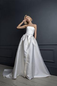 OLIVER DRESS & CHRISTIAN SKIRT   WEDDING DRESS BY HALFPENNY LONDON