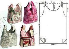 Удобная и практичная хозяйственная сумка