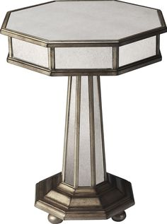 Elena Mirrored End Table