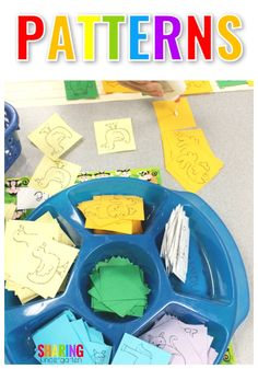 Pattern activity for kindergarten | learning patterns | teaching patterns | kindergarten | preschool | pre-k