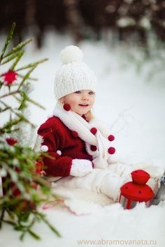 Beautiful little girl enjoying the holidays outside in the snow! *****Follow our unique garden themed boards at www.pinterest.com/earthwormtec *****Follow us on www.facebook.com/earthwormtec for great organic gardening tips #holidays #snow #children