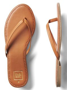 6cdd2ab817f product photo Leather Flip Flops