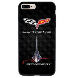 72191bf974eb Corvette Stingray Chevrolet Logo Print On Hard Plastic Cover Case For  iPhone6 6s  UnbrandedGeneric