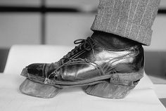 """""""Cow shoes"""" used by moonshiner's during Prohibition."""
