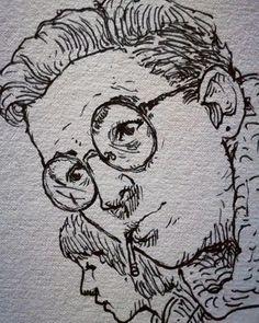 Art Drawings Sketches Simple, Pencil Art Drawings, Cartoon Drawings, Cartoon Art, Cool Drawings, Creepy Sketches, Cartoon Eyes, Amazing Drawings, Eyes Artwork