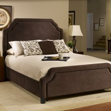 Hillsdale Carlyle Chocolate Fabric Bed Set  Really liking the color scheme. Warm tones :)