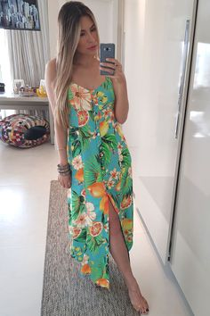 Casual Chic, Casual Wear, Casual Outfits, Fashion Outfits, Spring Dresses Casual, Dresses For Work, Summer Dresses, Summer Wedding Outfits, Tropical Dress