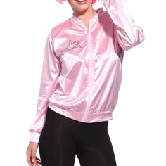 >> Click to Buy << Pink Lady Retro Jacket Women Fashion Party Jacket 2017 Casual Female Street Wear Girls Clothes #Affiliate