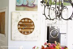 Love this clock! Going to make it since I can't ever find one I like
