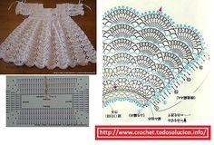 vestido-niña-crochet.jpg (601×410)