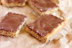 Lunch Lady Peanut Butter Bars | Mandy's Recipe Box
