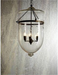 Belljar Lantern Glass Pendant Lights - Chic Chandeliers