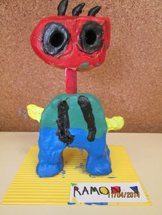 Escultura en arcilla inspirado en Joan Miró Preschool Art Lessons, Projects For Kids, Art Projects, Palette Art, Joan Miro, Kandinsky, Art Club, Art Festival, Art Plastique