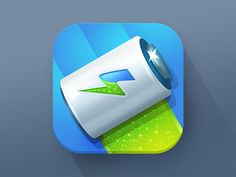 Battery icon V2 by Alexandr Nohrin
