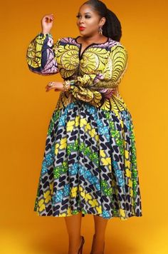 Trending Ankara Short Gown Styles For Smart and Sassy Looks - Stylish Naija African Maxi Dresses, African Fashion Ankara, Latest African Fashion Dresses, African Dresses For Women, African Print Fashion, African Attire, Ankara Gowns, African Prints, African Wear