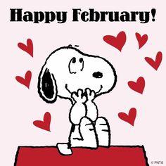 Happy February Snoopy