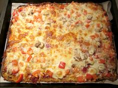 Bloemkool bodem pizza!
