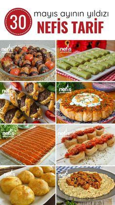 Turkish Recipes, Italian Recipes, Lunch Recipes, Cooking Recipes, Turkish Sweets, Turkish Kitchen, Iftar, Fresh Fruits And Vegetables, Ramadan Recipes