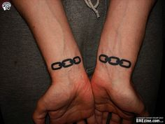 Jack's tattoos from Bioshock. Right wrist, I would think.