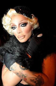 Raven from Rupaul's Drag Race Season 2. She is flawless.