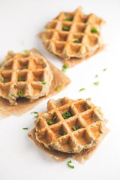 Vegan gluten free potato waffles - These vegan gluten free potato waffles are delicious, satisfying and so convenient. You can make big batches of these beauties and then freeze them.