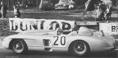 The tragic Levegh/Fitch 300 SLR from Le Mans 1955