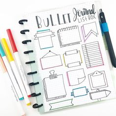 Working on my bulletjournal ideas 💡 plannerfamous plannerobsessed stickers jwplanneraddicts jwplanneraddicts stationary… Bullet Journal School, Bullet Journal Headers, Bullet Journal Banner, Bullet Journal Notebook, Bullet Journal 2019, Bullet Journal Ideas Pages, Bullet Journal Spread, Bullet Journal Inspiration, Bullet Journal Boxes