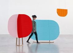 Hide and Seek room dividers by Thinkk Studio