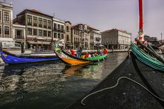 Aveiro, known as the Venice of Portugal