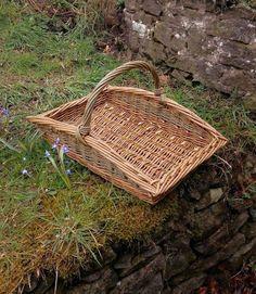 Large flower gatherer basket