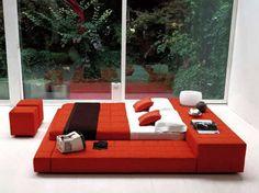 Amazing Red Bedroom Designs