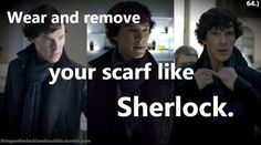 Things a Sherlockian should do