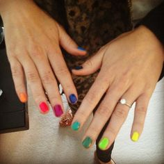Skittle Nails, right?