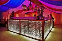 event bar furniture with rose gold - Google Search