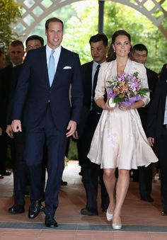 Kate Middleton Photo - The Duke And Duchess Of Cambridge Diamond Jubilee Tour - Day 1