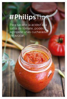 #PhilipsTip para sacarle la acidez a la salsa de tomate
